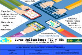 Curso Aplicaciones TIC y TEA octubre 2015
