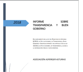INFORME SOBRE TRANSPARENCIA Y BUEN GOBIERNO