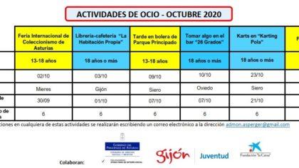 Ocio octubre 2020 AAA Redes